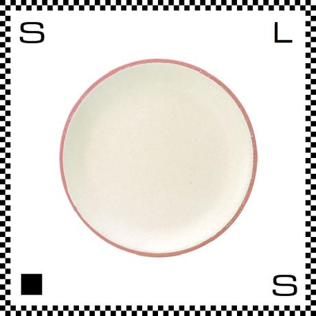 信楽焼 Whip ホイップ 小皿 クリーム ホワイト Φ11.5/D1.5cm ラウンドプレート 平皿 パステルカラー ハンドメイド 日本製