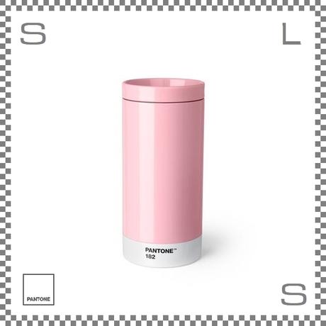 PANTONE パントン テイクアウトタンブラー ピンク 430ml Φ75/H164mm ステンレスボトル 魔法瓶