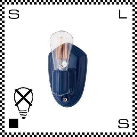 アートワークスタジオ Compass コンバスウォールランプ ディープブルー 電球なし 壁照明 W105/H165mm ウォールライト ネイキッドソケット セラミック製 AW-0508Z-DBL