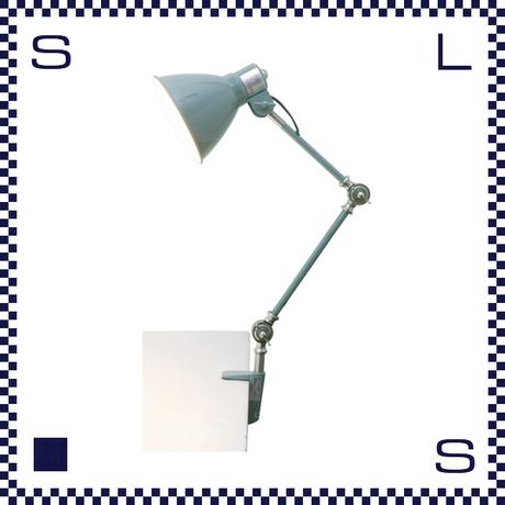HERMOSA ハモサ INDUSTRY インダストリーデスクランプ サックスグレー クランプ型 デスクランプ インダストリアル