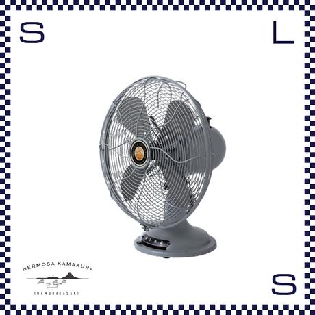HERMOSA ハモサ レトロファンテーブル 2019 サックス W335/D250/H425mm 扇風機 コンパクト 卓上ファン RETRO FAN TABBLE rf-0119-sx
