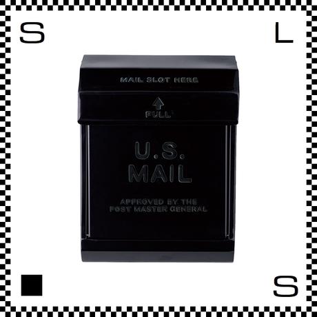 アートワークスタジオ U.Sメールボックス ダイヤル式 ブラック W283/D190/H380mm 壁付ポスト 鍵付き 郵便ポスト  TK-2078-BK