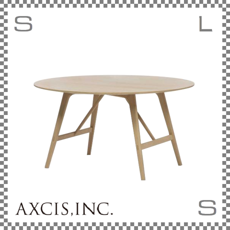 JORD CIRCLE TABLE ヨルズサークルテーブル Φ1200/H720mm オーク材使用 ダイニングテーブル スカンジナビアスタイル hs2657
