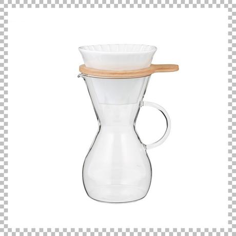 SNOWTOP COFFEE series スノウトップ カラフェ&ドリッパーセット 600ml W120/D155/H235mm ドリッパースタンドセット