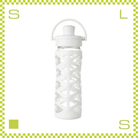 LIFEFACTORY ライフファクトリー グラスボトル アクティブキャップ 475 オプティックホワイト 475ml 携帯ボトル ガラスボトル