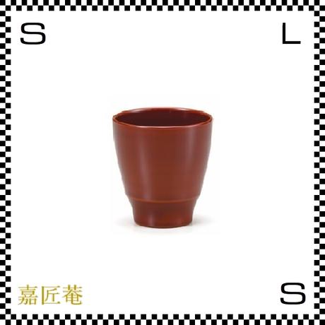 十色のぐい呑み カップ 溜 ブラウン Φ6.7/H6.9cm 漆カップ 漆塗装 ちょこ フリーカップ 小鉢 日本製