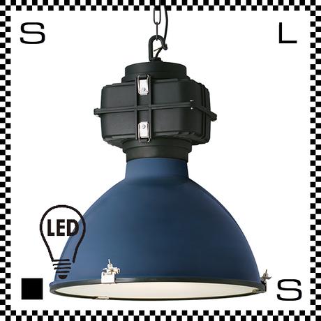 アートワークスタジオ Shelter シェルターペンダントライト 3灯 ディープブルー ブルックリンスタイル LED電球付 Φ520/H585mm インダストリアル風 AW-0465E-DBL