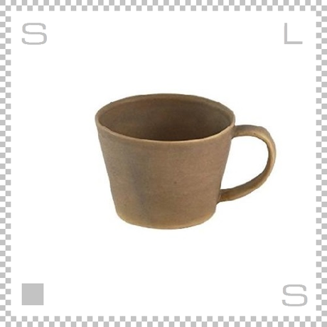 SAKUZAN サクザン SARA サラ コーヒーカップ ブラウン 190cc パステルカラー 日本製