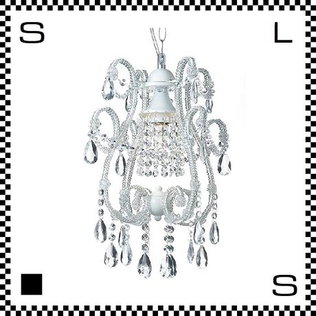 アートワークスタジオ シャンデリア ミニ Eden1 クローム 電球付 Φ340/H430mm アンティーク風 AW-0229-WH