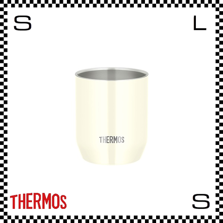 THERMOS サーモス 真空断熱カップ 280ml バニラ Φ7.5/H9cm