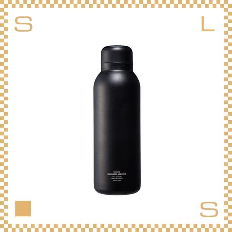 RIVERS リバーズ バキュームフラスク ステム STD ブラック W70/D70/H225mm 500ml 約200g 魔法瓶 ストラップなし