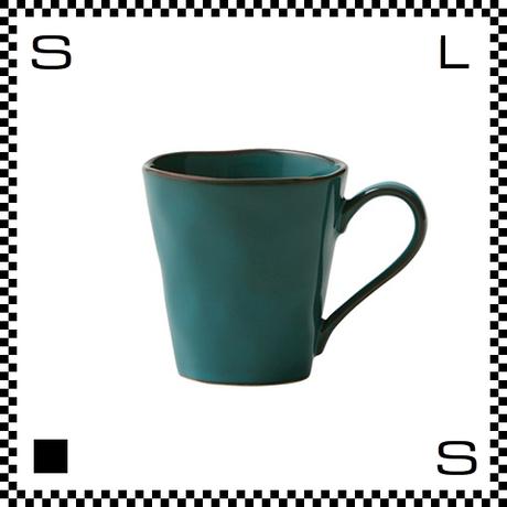 Prairie プレーリー マグカップ アズール ターコイズ Φ90/W124/H95mm 310cc コーヒーカップ アンティーク風 日本製