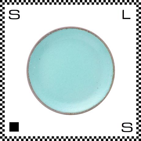 信楽焼 Whip ホイップ 小皿 ミント グリーン Φ11.5/D1.5cm ラウンドプレート 平皿 パステルカラー ハンドメイド 日本製