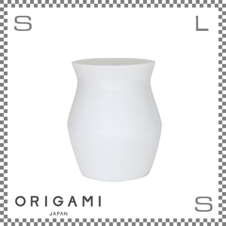 ORIGAMI オリガミ SENSORY フレーバーカップ ホワイト Φ89/H106mm 360cc コーヒーカップ ハンドルレス アロマが愉しめる 日本製