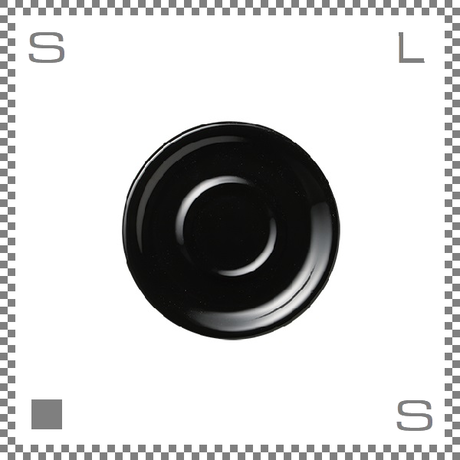 ORIGAMI オリガミ カプチーノカップ/ラテカップ兼用ソーサー ブラック 6oz/8ozカップ兼用ソーサー Φ147mm 日本製
