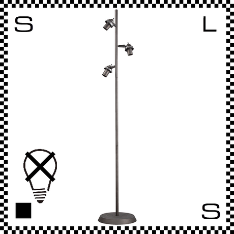 アートワークスタジオ 3灯クラシックフロアスタンド本体 ビンテージメタル デスクライトベース 電球別売 Φ285/H1573mm E26 AW-0441-VME (※)