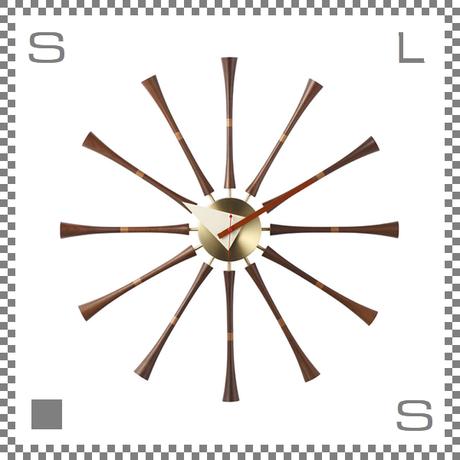 スピンドルクロック ジョージネルソン 壁掛け時計 クロック ウォールクロック spindle clock george nelson