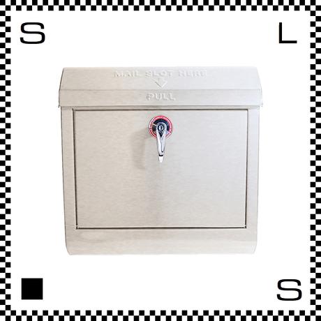 アートワークスタジオ メールボックス レバー開閉式 クリーム W385/D132/H400mm 壁付ポスト 鍵付き 郵便ポスト  TK-2076-CR