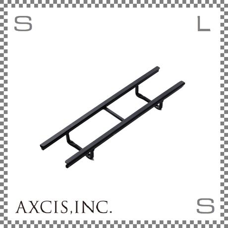 AXCIS アクシス アイアンネームプレートホルダー Sサイズ W260/D28/H65mm アルファベットプレート6枚収納可 スチール製 hs2556