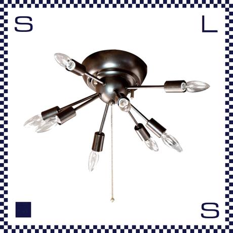 HERMOSA ハモサ SPARK S LAMP スパーク Sサイズ 8灯ランプ シーリングライト インダストリアル