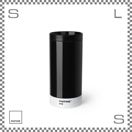 PANTONE パントン テイクアウトタンブラー ブラック 430ml Φ75/H164mm ステンレスボトル 魔法瓶