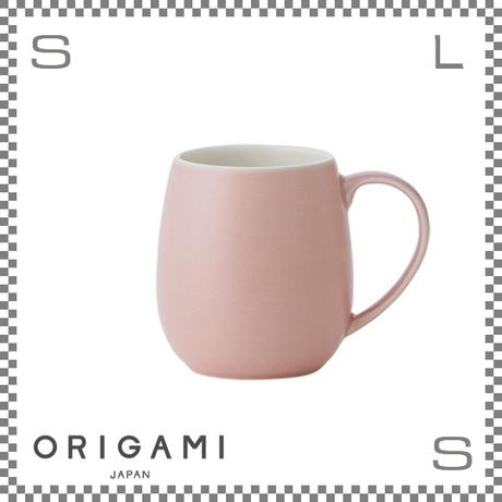 ORIGAMI オリガミ バレルアロママグ マットピンク Φ85/W110/H90mm 320cc コーヒーカップ バリスタが設計 日本製