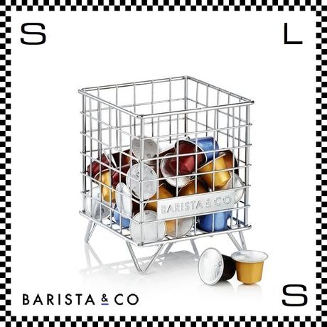 BARISTA&CO バリスタアンドコー ポットケージ スチール W13.8/D13.8/H16.7cm コーヒーカプセル入れ