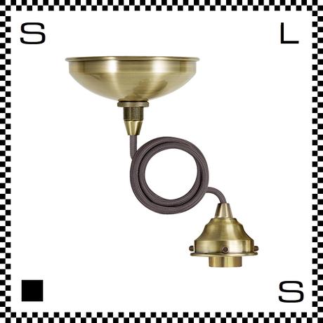 アートワークスタジオ ベーシックペンダント ゴールド コード:875mm スイッチ別売 電球別売 ソケットコード E26 AW-0427-GD (※)