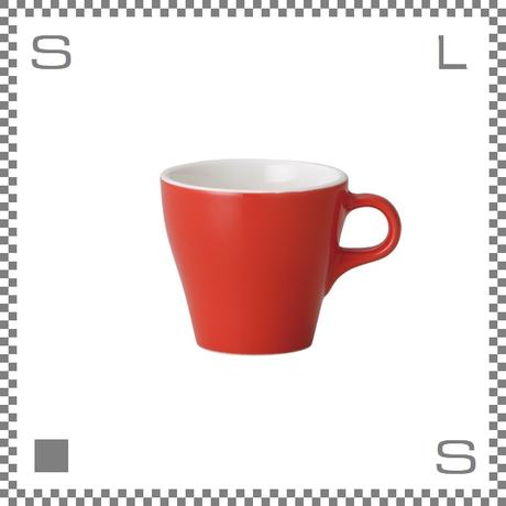 ORIGAMI オリガミ カプチーノカップ レッド 6oz 180cc コーヒーカップ バリスタが設計 日本製