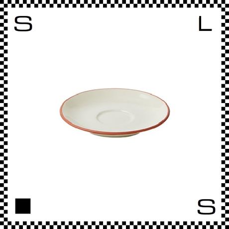 Prato プラート エスプレッソソーサー ビアンコ ホワイト Φ123/H23mm エスプレッソカップ用ソーサー テラコッタイメージ 日本製