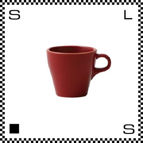 Prato プラート カプチーノカップ 6oz ロッソ レッド Φ83/W106/H76mm 180cc コーヒーカップ テラコッタイメージ 日本製