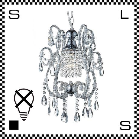 アートワークスタジオ シャンデリア ミニ Eden1 ホワイト 電球なし Φ340/H430mm アンティーク風 AW-0229Z-CH