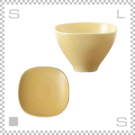 SAKUZAN サクザン SARA LOTUS サラロータス カップ&ソーサー イエロー パステルカラー 日本製