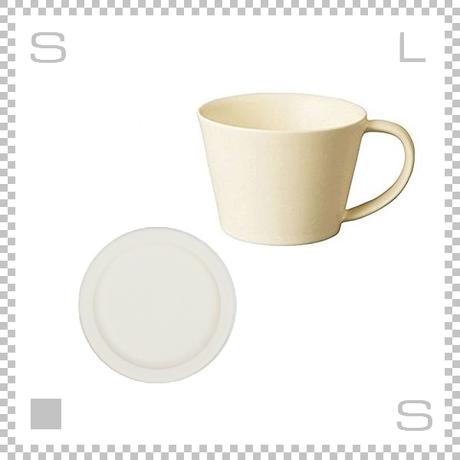 SAKUZAN サクザン SARA サラ コーヒーカップ&ソーサー クリーム パステルカラー 日本製