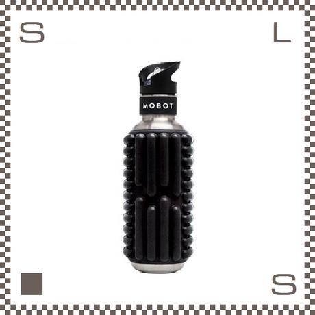 MOBOT モボット フォームローラー ウォーターボトル 700ml ブラック  魅せる水筒 ステンレス製 携帯ボトル