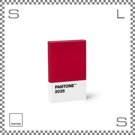 PANTONE パントン カードホルダー レッド 95×60×11mm 名刺入れ カードケース