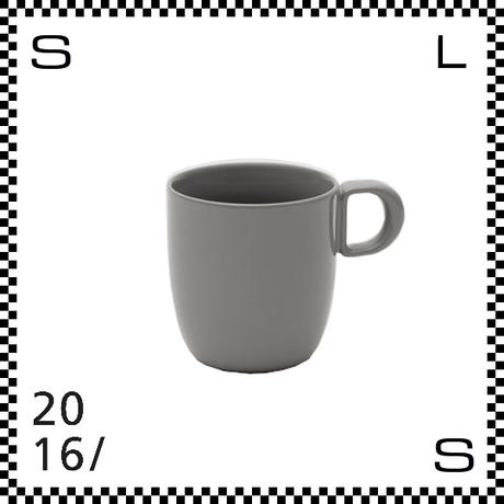 2016/ Leon Ransmeier レオン ランスマイヤー マグカップ グレー 300ml Φ80/W115/H86mm マグ 有田焼 日本製