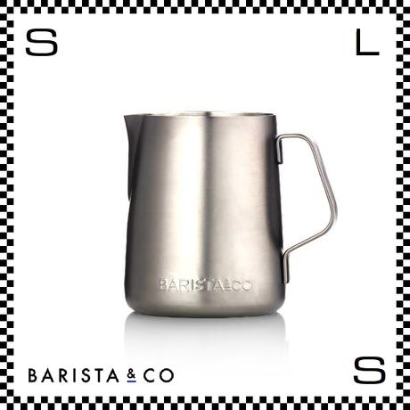 BARISTA&CO バリスタアンドコー ミルクジャグ スチール 350ml W10/D9.1/H13cm フォームミルクマグ