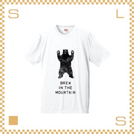 RIVERS リバーズ アンプラグドコーヒー Tシャツ BEAR ホワイト サイズL