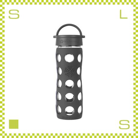 LIFEFACTORY ライフファクトリー グラスボトル クラシックキャップ 475 カーボン 475ml 携帯ボトル ガラスボトル