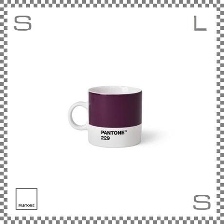 PANTONE パントン エスプレッソカップ ヴァイオレット 120ml Φ62/W86/H61.5mm デミタスカップ