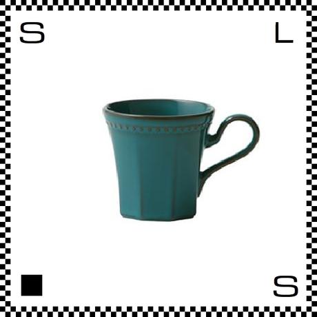 Coline コリーヌ コーヒーカップ アズール ターコイズ Φ82/W115/H81mm 200cc オクタゴン 八角形 クラシックデザイン 日本製
