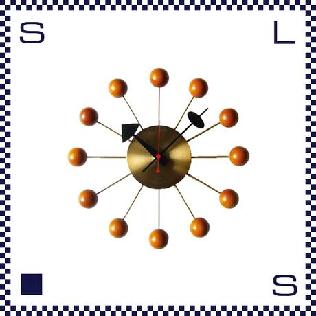 HERMOSA ハモサ BALL CLOCK ボールクロック ゴールド ジョージネルソン リプロダクト Φ335/D70mm ウォールクロック