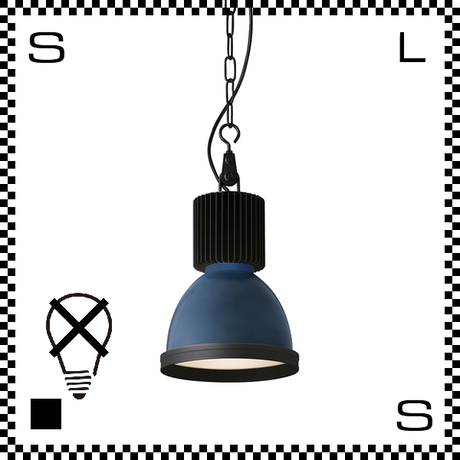 アートワークスタジオ Studio スタジオペンダントライト ディープブルー ブルックリンスタイル ビッグシェード 電球なし Φ220/417mm インダストリアル風  AW-0463Z-DBL