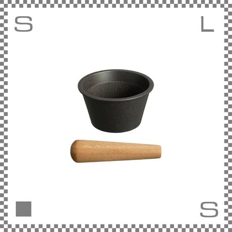 KINTO キントー TAKU すりばち&すりこぎ ブラック 磁器製 すり鉢 めん棒