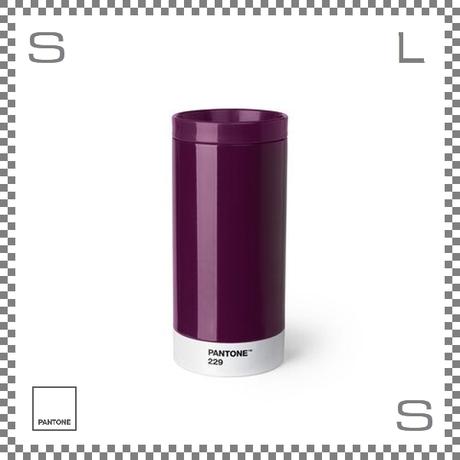 PANTONE パントン テイクアウトタンブラー パープル 430ml Φ75/H164mm ステンレスボトル 魔法瓶