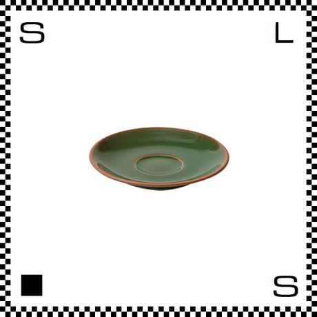 Prato プラート エスプレッソソーサー ヴェルデ グリーン Φ123/H23mm エスプレッソカップ用ソーサー テラコッタイメージ 日本製