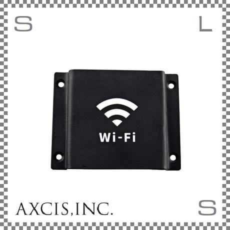 AXCIS アクシス アイアンサイン Wi-Fi W103/D12/H80mm ワイファイ スチール製 スチールプレート hs2677