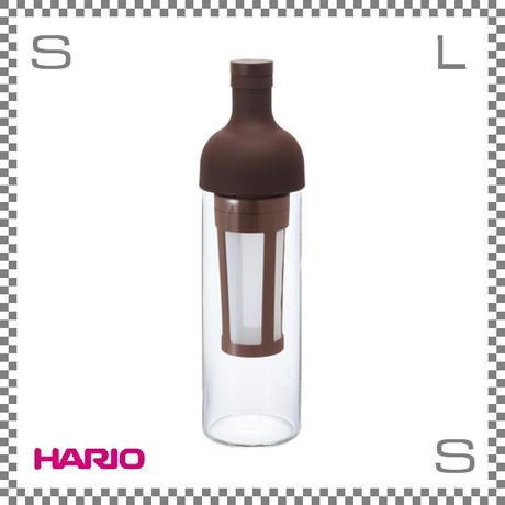 HARIO ハリオ フィルターインコーヒーボトル ショコラブラウン 5杯用 W87/D84/H300mm コールドブリューコーヒー 水出しコーヒー fic-70-cbr