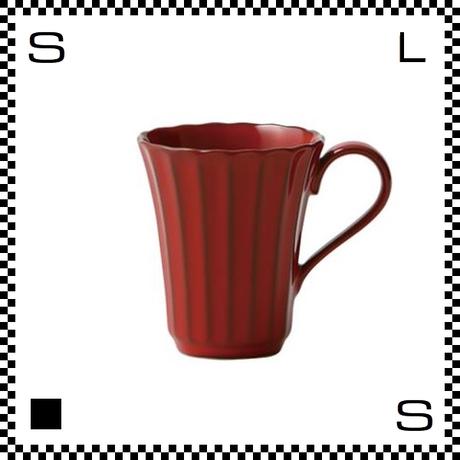 風雅 ふうが マグ 紅 レッド Φ68/H124mm 180cc マグカップ コーヒーカップ レトロカラー 日本製